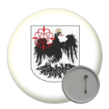 Central and South America Button Badges - 58mm